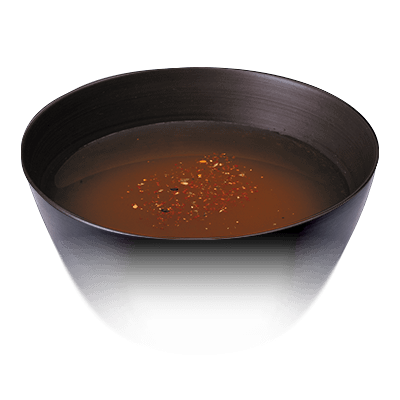 Spicy miso soup
