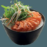 salmon-donburi
