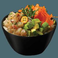 Citrus Seabream Poke Bowl