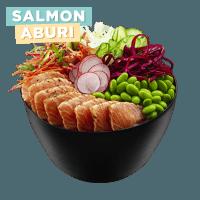 salmon-aburi-poke-bowl